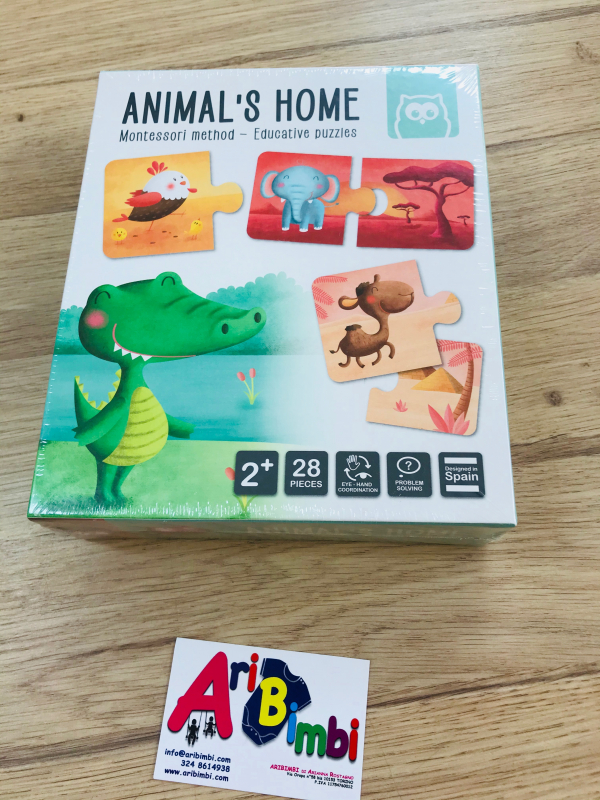 ANIMAL S HOME MONTESSORI EUREKA KIDS - NUOVO