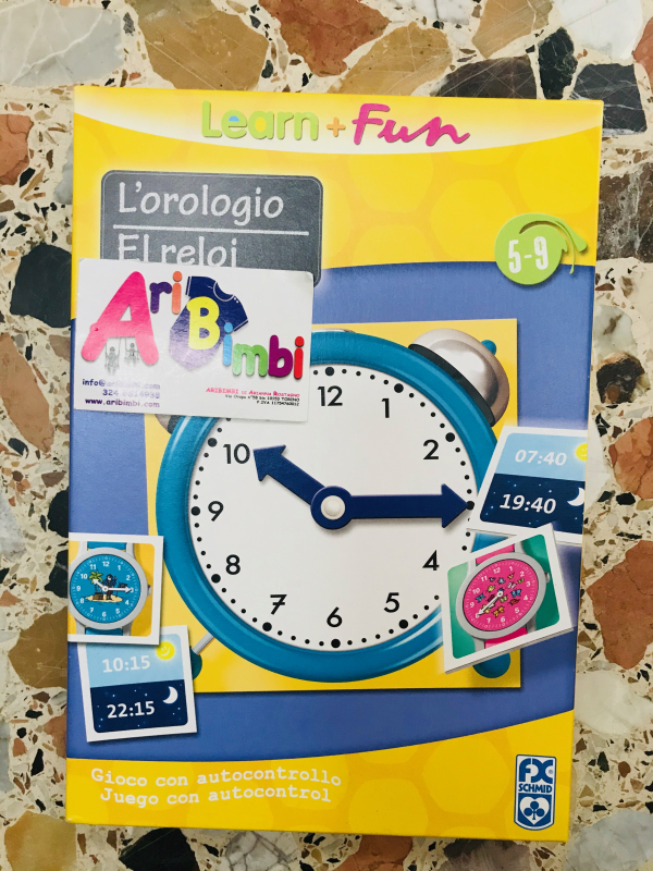 L OROLOGIO, LEARN AND FUN - NUOVO