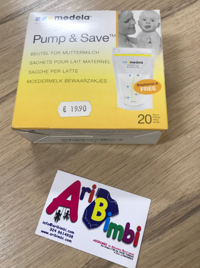 PUMP AND SAVE SACCHETTI PER LATTE MEDELA