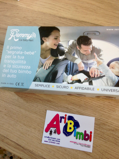 DISPOSITIVO ANTI ABBANDONO REMMY CAR BABY ALERT - START AND GO