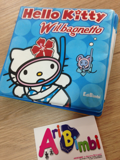 LIBRO BAGNO HELLO KITTY BLU